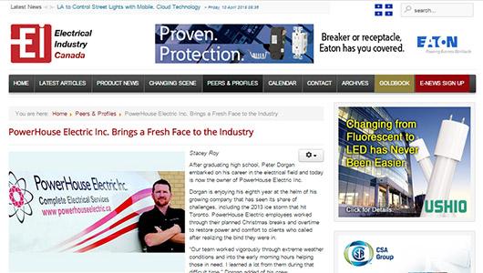 oei article on powerhouse electric